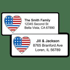 Thin Blue Line Return Address Labels