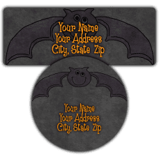 Bat Return Address Labels
