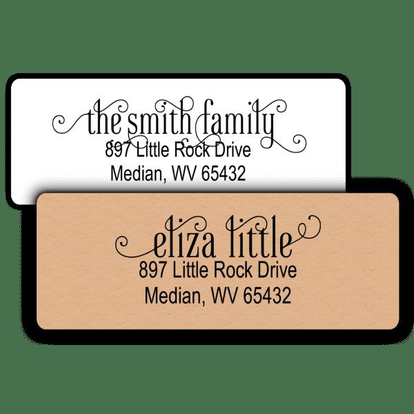 Script Return Address Label