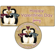 Penguin Love Stickers