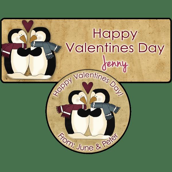 Penguin Love Stickers