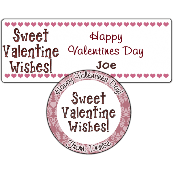 Sweet Valentine Wishes 2 Stickers