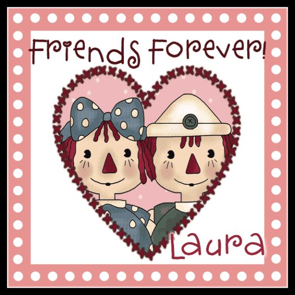 Annie & Andy Valentine Square Sticker